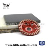 High Quality Cup Wheel with Heavy-Duty Machine