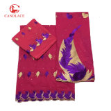 Candlace New Arrival Swiss Cotton Voile Lace Set for Women Cloth