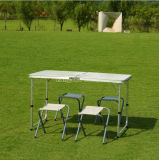 Supply Aluminum Picnic Table Segregate Folding Table