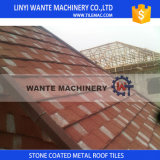 Linyi Building Materials Colorful Stone Coated Metal Roof Tiles
