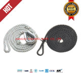 3/8/12 Strand High Performance Polyester Mooring Rope with ABS/CCS/Lr/Dnv Certificates