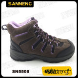 Sport Style Suede Leather Safety Shoe with PU/PU Outsole (SN5509)