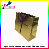 Luxury Design Golden Card Paper Handle Bag