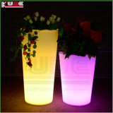 Garden Glowing Furniture LED Illuminate Flower Pot