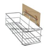 Shower Floor Caddy Wall Mounted Metal Display Shelf Rack