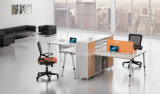 New Simple Office Workstation Desk with Hutch Side Cabinet (HF-A11)