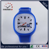 2015 Blue Charm Silicone Jelly Lady Wrist Watch (DC-960)