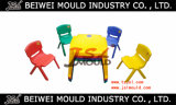 Custom Injection Plastic Kids Chair and Table Mould