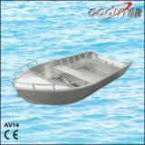 V Bow Aluminium Fishing Boat with All Welded Technology