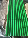 12 Waves Color Coated Galvanized Corrugated Sheet for Roof Tile