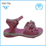 China Shoes Factory Kids Shoes Safety Soft Girls Sandal
