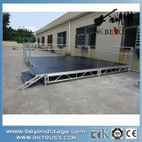 Rk Portable Aluminum Stage Equipment with Adjustable Height for Event