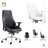 Factory Wholesale Price Swivel Leather Office Chair with Arm Rest