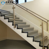 Stainless Steel Glass Stair Railing Pillars for Indoor