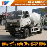 China Cheap Dongfeng 6cbm Concrete Transit Machinery Cement Mixer Truck