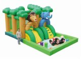 Cheer Amusement Jungle Themed Inflatable Indoor Playground Amusement Equipment