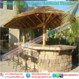 Artificial Thatch Synthetic Thatch Plastic Palm Tree Leave Thatch Roofing Tiles