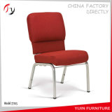 Stackable Wholesale Metal Durable Linked Steel Church Chair (JC-01)