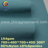 Twill Nylon Two-Way Spandex Fabric for Clothes Garment (GLLML256)