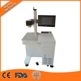 Plastic Ring CO2 Laser Marking Machine, Serial Number CO2 Laser Marking Machine with 60W Source
