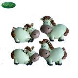 Custom Cute Resin Calf Fridge Magnet for Decoration