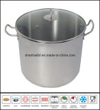 Stainless Steel Big Deep Soup Pot