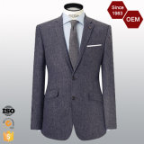 OEM Men′s Latest Design Herringbone Blazer for Men