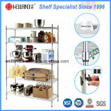 Light Duty Adjustable Chrome Metal Wire Kitchen Shelf Rack