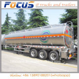 Aluminum Steel Mobile Tanker Silo Truck Trailer for Arabic Countries