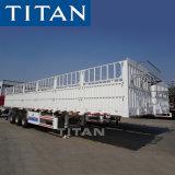 Titan 3 Axles Fence Trailer Flatbed Full Stake Trailer
