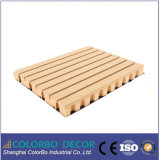 Sound Absorbed Materials Wooden Grooved Panel