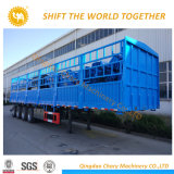 China 4 Axles 80 Ton Storage / Stake Cargo Semi Trailer