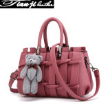10-Year Factory Wholesale Fashion PU Leather Lady Handbags with Certificate (J866)