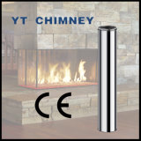 6′′ (150mm) Twin Wall Stainless Steel Insulated Chimney Pipes for Wood Burning Stoves