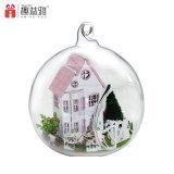 DIY Wooden Doll House Miniature Glass Ball