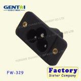 AC Power Socket Mickey Mouse Socket C6 Type Plum Socket Three Core Card