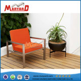 Waterproof Fabric Back Cushion Single Sofa