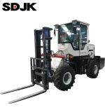 Cheap 3-5 Ton All Rough Terrain Diesel off Road Fork Lift Forklift Trucks