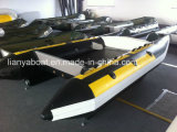 Liya Fast Racing China High Speed Inflatable Hypalon Boat (KS335)