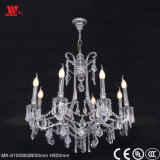 Chandelier Lighting with Glass Decoration Mk-810098