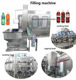 Gas Contain Carbonated Beverage Beverage Drink Filling Machinery Production Line for Pet Bottle Glass Bottle