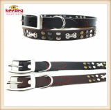 Quality Handmade Pet Leather Collars/for Medium and Big Dog (KC0133)