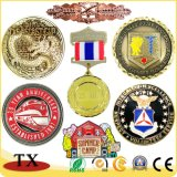 Custom Metal Coin for Enamel Hot Round Embossed Paint Badge