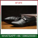 New Model Black PU Rubber Dress Shoes for Man Wholesale