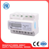 DIN Rail Type 3 Phase 4 Wire Electronic Active Energy Meter, Kwh Meter, Electricity Meter