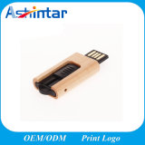 Mini USB Flash Disk with Wooden Box Customed USB2.0 Stick Wood USB Flash Drive