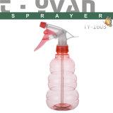 Pet Plastic Clear Trigger Sprayer Pump Bottle/Garden Water Spray Bottle