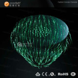Wholesale Colorful Beautiful Luxury Cheap RGB Fiber Optic Chandelier Lighting Om060
