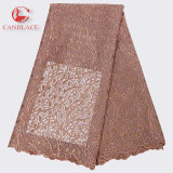 Fashion Design New Arrival Soft African Tulle Lace Fabric for Wedding