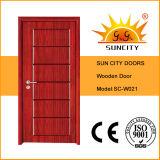 China Bedroom Wooden Doors Price (SC-W021)